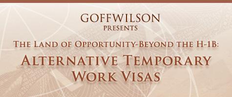 Beyond H1-B Work Visas